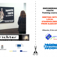 "Erasmus +, Curso de Formación ""Empower YOU(Th)"""